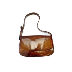 Prada Vintage Tortoise Shoulder Bag